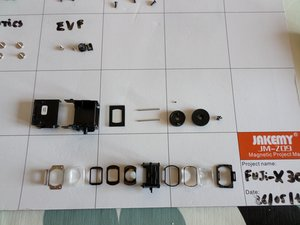 Fujifilm X30  EVF Replacement/Teardown