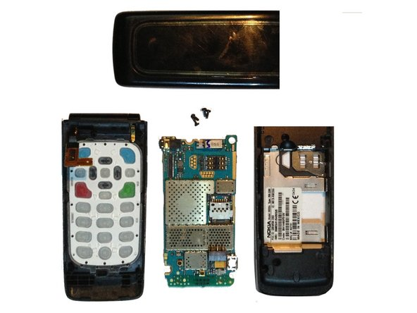 Nokia 6555b Logic Board Replacement
