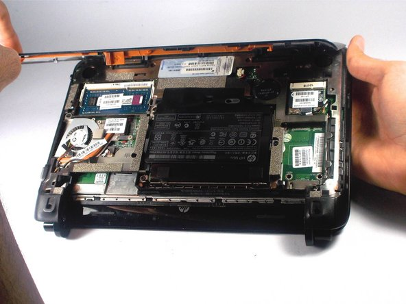 HP Mini 110-3735dx Backcover Replacement