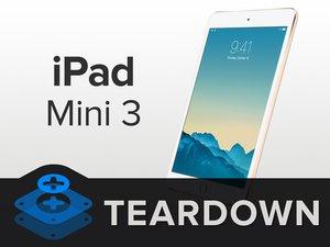 iPad Mini 3 Wi-Fi Teardown