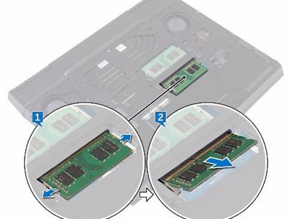 Dell Alienware 13 R3 Memory Modules Replacement