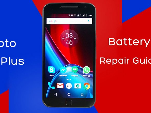 Moto G4 Plus Battery Replacement