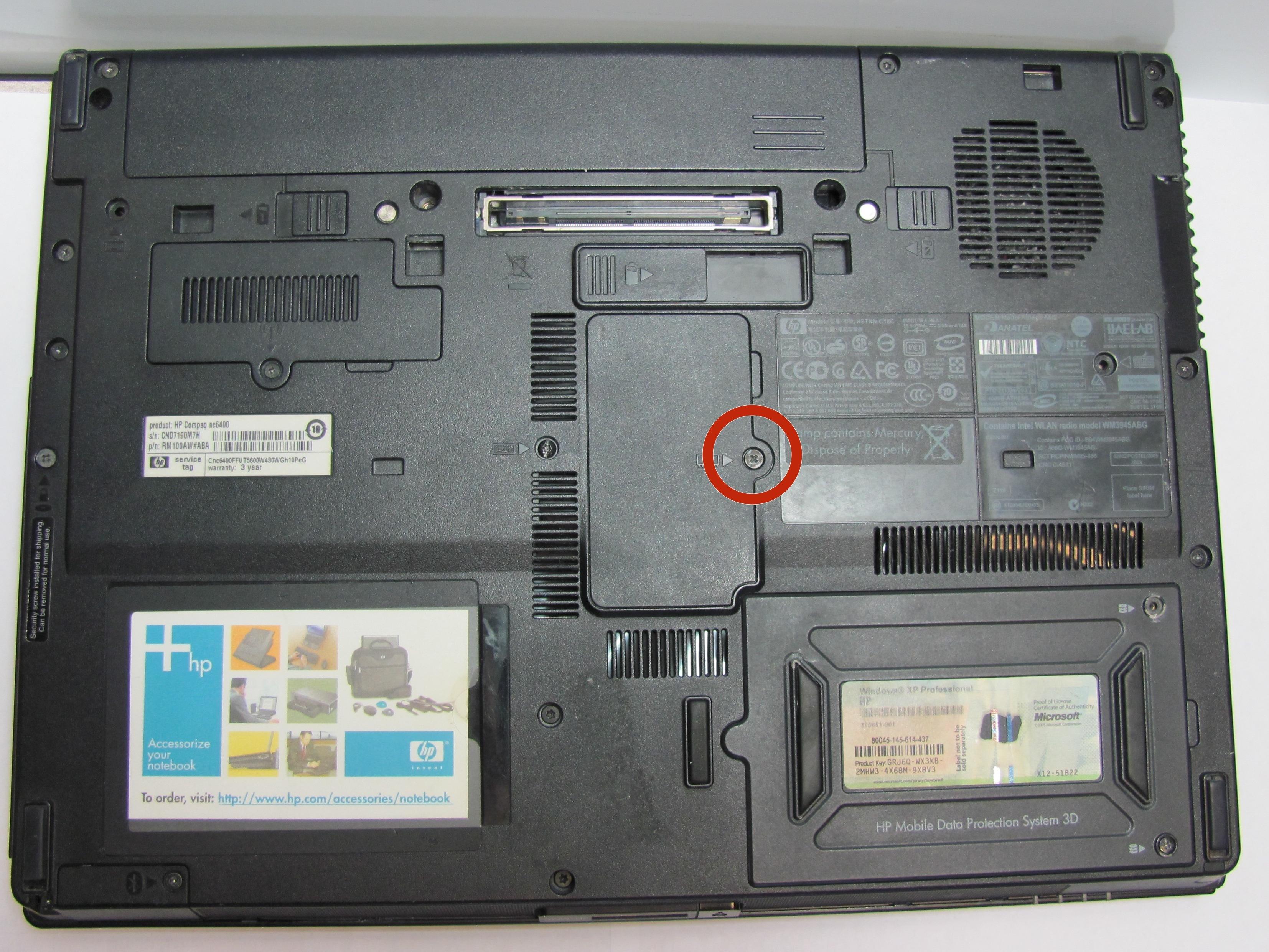 hp compaq nc6400 repair ifixit rh ifixit com hp nc6400 service manual hp compaq nc6400 repair manual