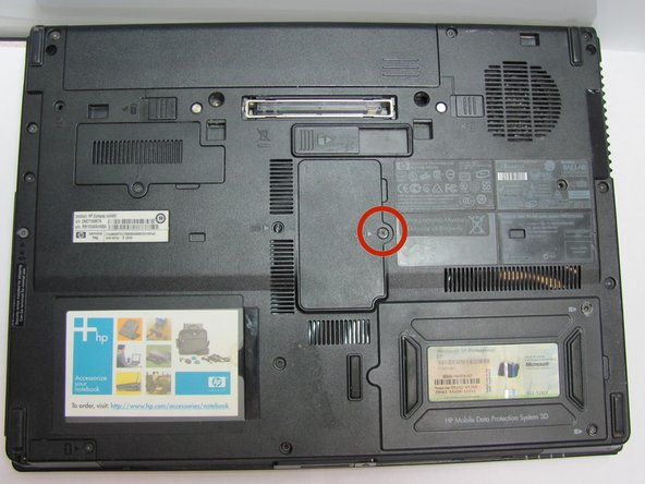 HP Compaq nc6400 RAM Replacement