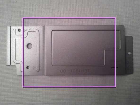 Image 2/3: What heatsink cover looks like removed.
