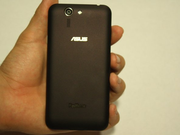 Image 1/2: Separate cover all the way around the sides of the phone.