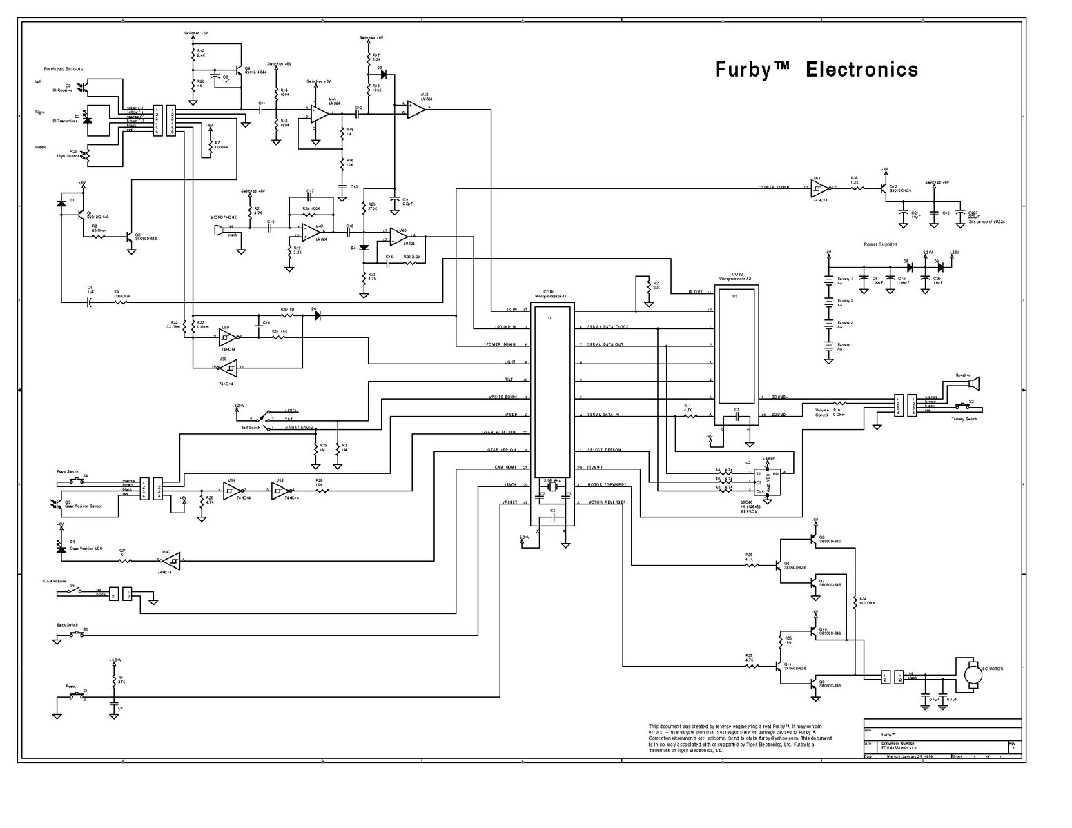 solved furby boom not speaking furby ifixit rh ifixit com Light Switch Wiring Diagram Ladder Diagram