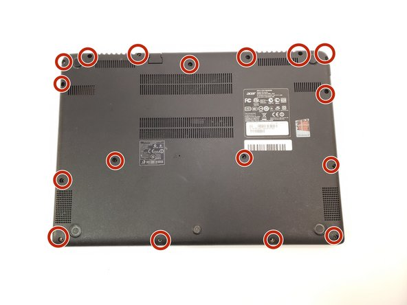 Acer Aspire V5-473P-5602 Back Panel Replacement