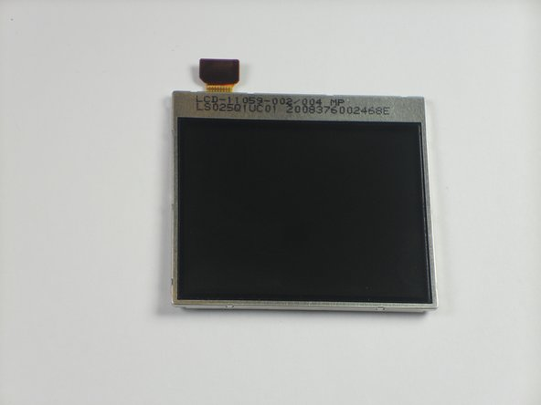 Blackberry Curve 8330 LCD Panel Replacement