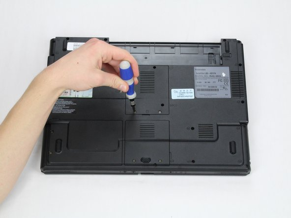 Lift the panel and remove it from the laptop.