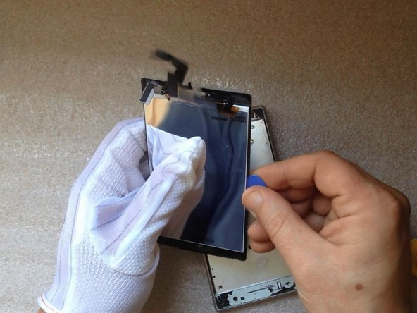 If your Touchscreen or LCD Display is OK, separate them carefully.