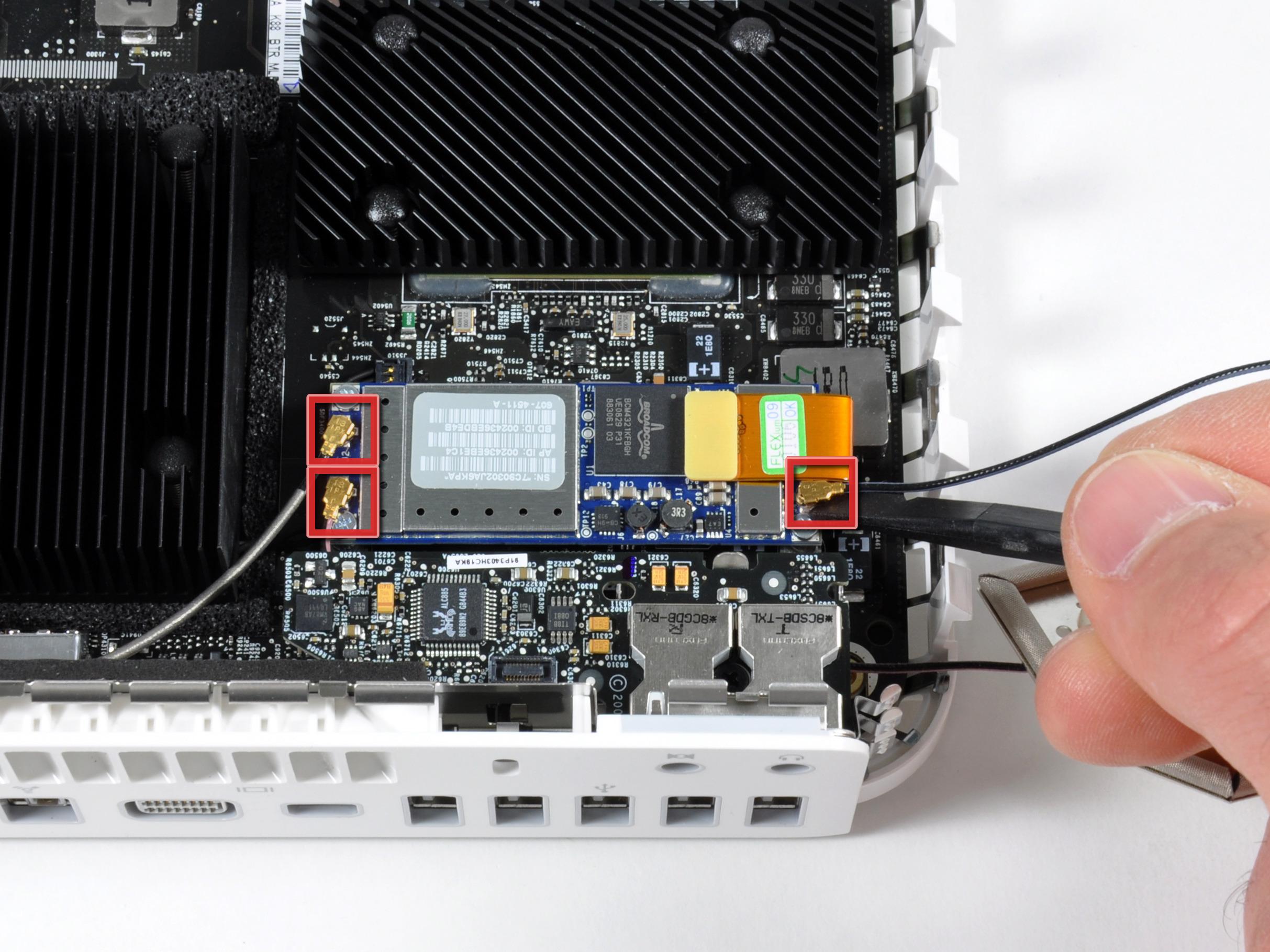 mac mini model a antennas replacement ifixit