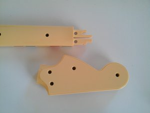 Separate headstock & neck of Rock Band Fender Stratocaster