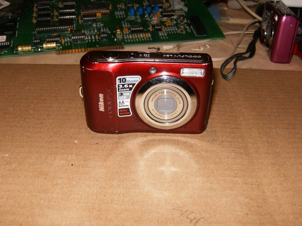 Replacing Nikon Coolpix L20 LCD
