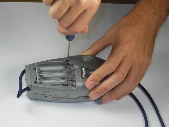 Remove screws with a Phillips #00 screwdriver.