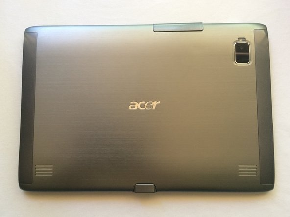 Acer Iconia Tab A500 Back Case Replacement