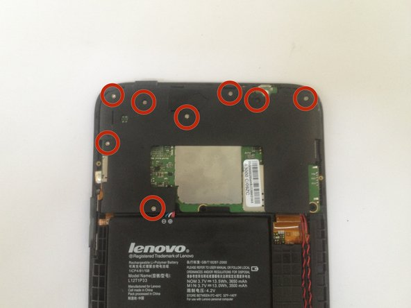 Image 1/3: Disconnect the battery connector.