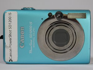 Canon PowerShot SD1200 IS Troubleshooting