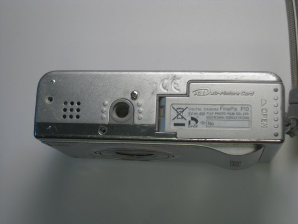 Fujifilm Finepix F10 6.3 MP Back Cover Replacement