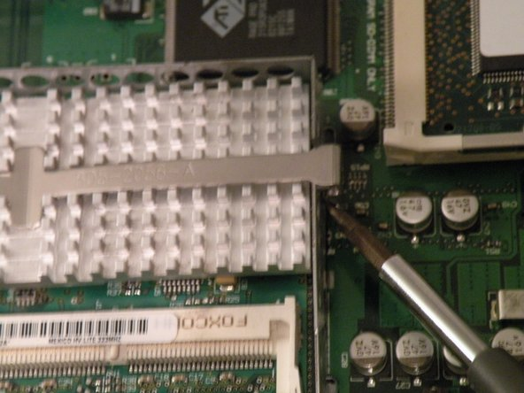 Image 1/2: Remove the CPU Heatsink.