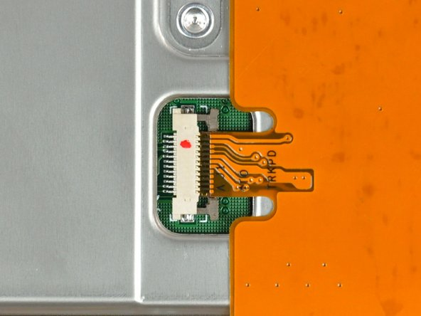 The ZIF cable lock will move about 1 mm and stop. Do not attempt to completely remove the ZIF cable lock.