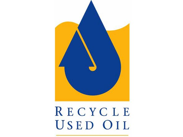 Image 2/2: Take your old oil and filter to a recycling facility. Most auto parts stores and repair shops accept these at no charge to you. In addition, some cities and/or counties have a service where they will collect used oil and filters from your home. For more information, see the American Petroleum Institute's web page on [http://www.recycleoil.org/|used motor oil collection and recycling].