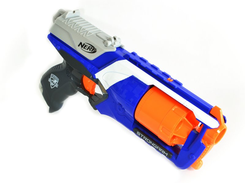 Nerf guns in the office – which model and what games? – Singletrack Magazine