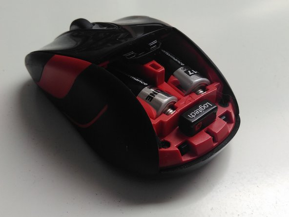 Logitech Mouse M525 Disassembly