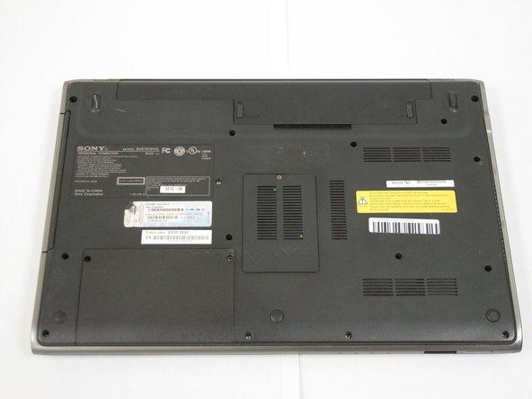 Power laptop off before beginning.