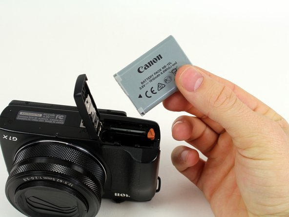 Canon PowerShot G1 X Mark II Battery Replacement