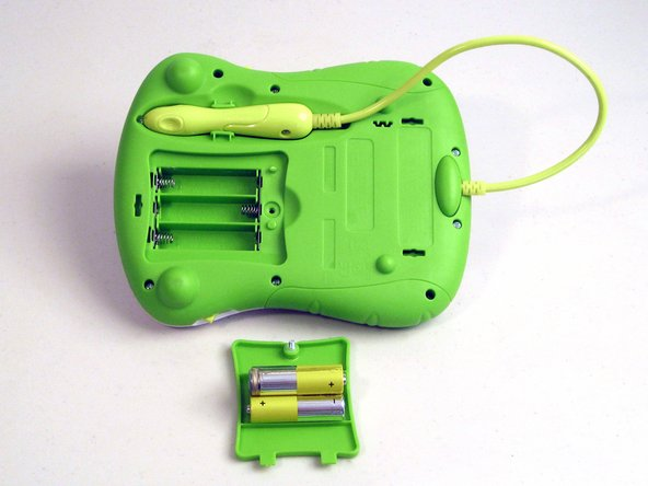 LeapFrog Scribble and Write Battery Change