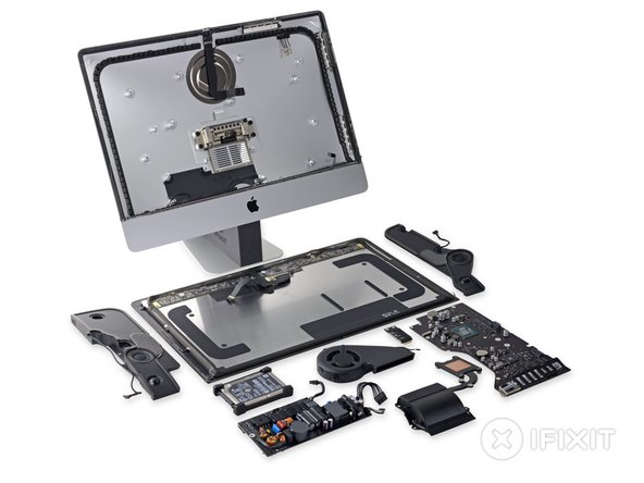 21 5″ iMac 4K Retina Teardown Reveals Display-Optimized