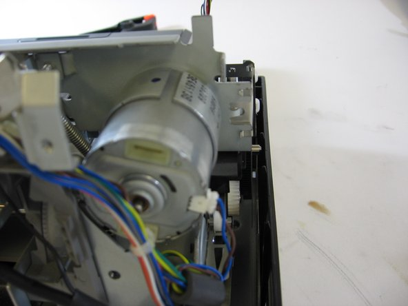 Once all screws have been removed from the motor housing, you are free to remove the motor and replace.