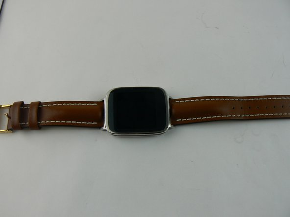 ASUS ZenWatch New Strap Installation