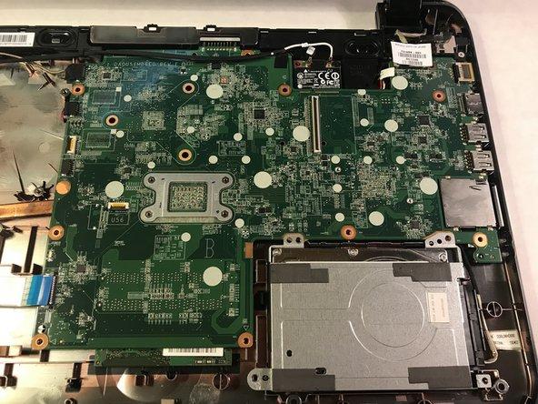 Remove the hard drive.