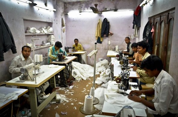 Sewing shop in Seelampur