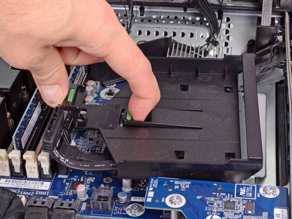 This, of course, would mean a loss of Blu-ray capabilities, but with one of iFixit's hard drives installed, you can fit up to 50 HD movies inside the computer!