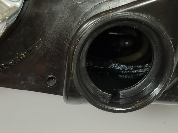 Pull out and remove old fuel lines and fuel filter