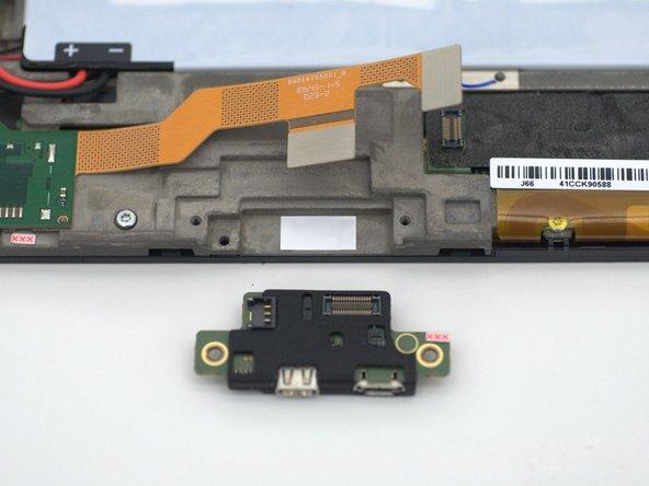 Motorola Xoom 2 Charging Port Replacement