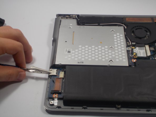 All steps following the removal of the back cover should be completed while wearing an Anti static bracelet. This prevents ESD (electrostatic discharge). ESD can damage nearly every part on the inside of your computer.