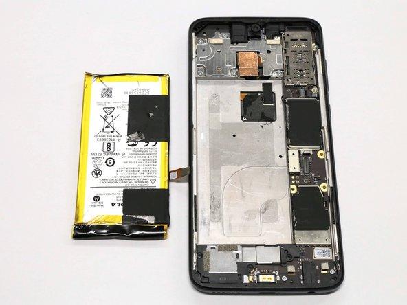 Motorola Moto G7 Plus バッテリーの交換