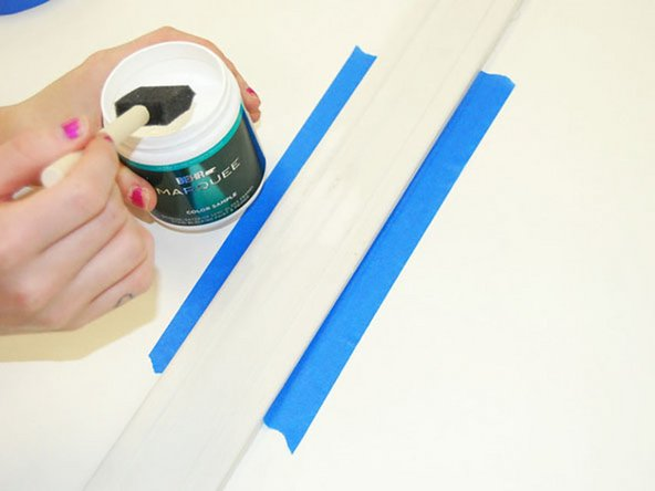 Paint the trim to match the original color.
