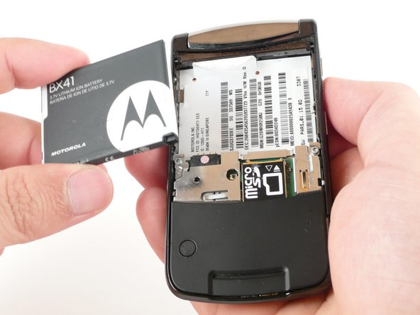 Motorola RAZR2 v9m Battery Replacement