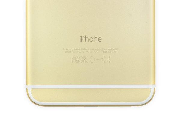 就跟iPhone 5s 一樣,iPhone 6 Plus 有三种不同的颜色可以选择:银色,金色,和太空灰。我们当然选择了金色。