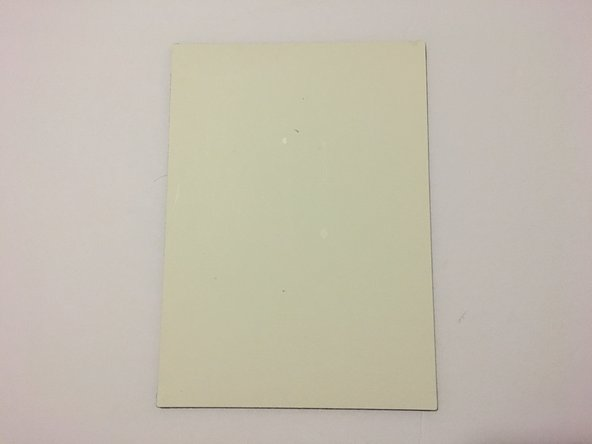 Canon CanoScan N670U White Document Mat Replacement