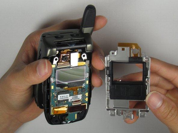 Disassembling Motorola i850 LCD Board