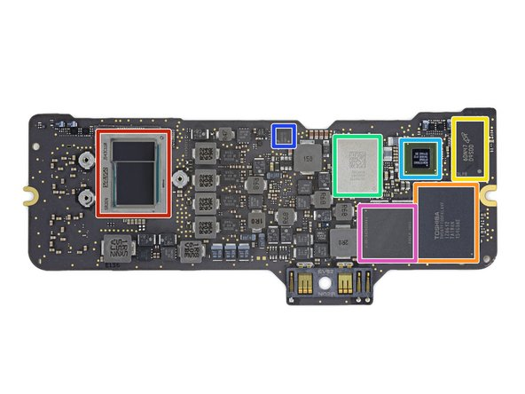 Logic Board! What chips is this MacBook serving up?