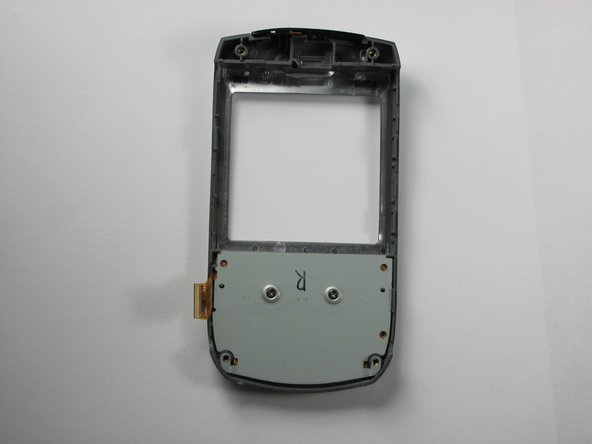 Take the face plate of Treo, and locate the backside of it.