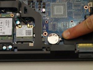 Remplacement pile BIOS