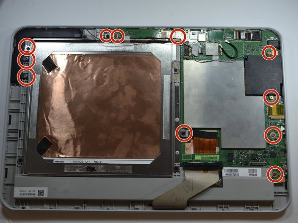 Toshiba Encore 2 WT10-A Motherboard Replacement